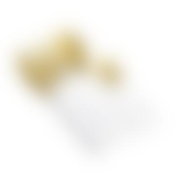 Rome Cutlery Set Matte White Gold Metal