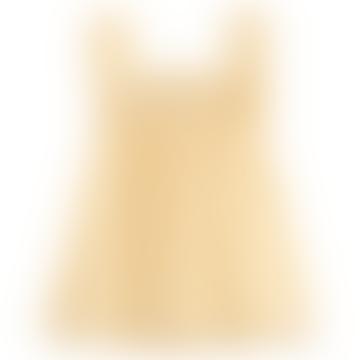 Yellow Gingham Baby Dress