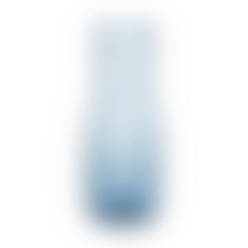 Hubsch Blue glass vase