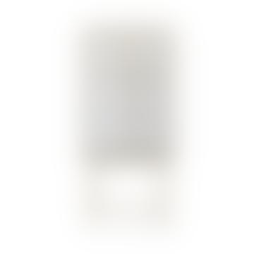 Haze Vitrine Reeded Glass Cashmere