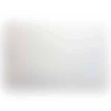 LARGE PLAIN WHITE ANDALUSIAN HANDMADE JARAPA RUG