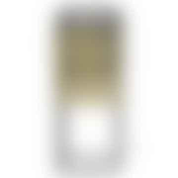 Brass & Black Table Lamp, 21x21x52 cm