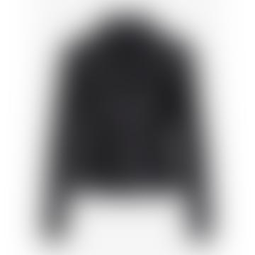 Black Sophie Leather Jacket