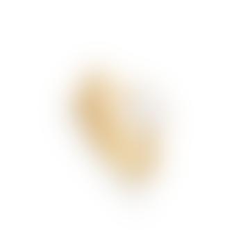 SVP Jewellery Gold Rainbow Moonstone Atomic Mini Adjustable Ring