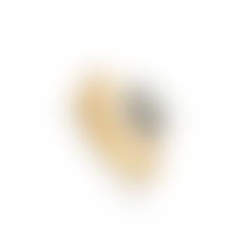 SVP Jewellery Labradorite Atomic Mini Adjustable Ring