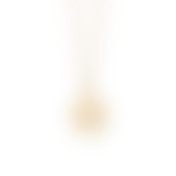 Gold Sacral Chakra Necklace