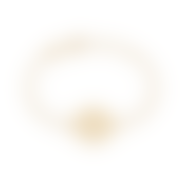Gold Solar Plexus Chakra Chain Bracelet