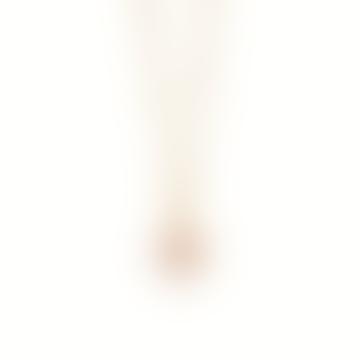 Gold Rose Quartz Healing Stone Necklace