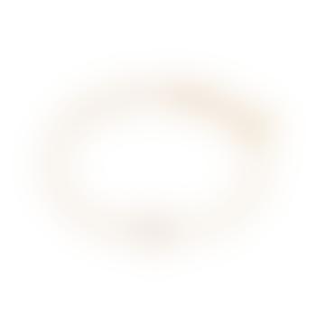 Gold Rose Quartz Healing Stone Bracelet