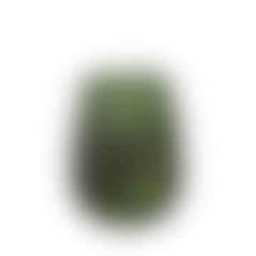 Set of 2 Green vase Raoel, Ø 9x12 cm