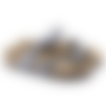 Mayari Birko-Flor in Icy Metallic Anthracite Sandal 1016006