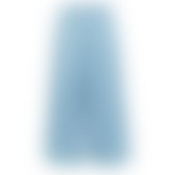 Tess High Waisted Crop Pants - Light Blue