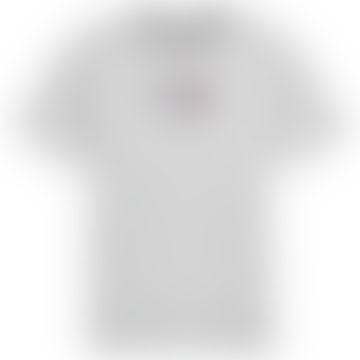 Tommy Hilfiger Tommy Jeans Embroidered Box Logo T Shirt Grey