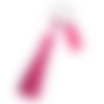 Gift Company Pink PS Heart Tassel Keychain