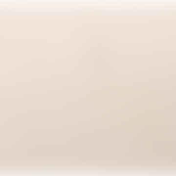Vivaraise Enzo Extra Long Bath Mat Ivory Cream