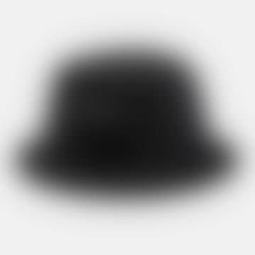 Black and White Script Bucket Hat