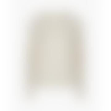 Egret Karter Alpaca Long Sleeve Pullover
