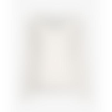 Moss Copenhagen Egret Karter Alpaca V Neck Pullover