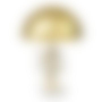 Lámpara de mesa Globe de latón