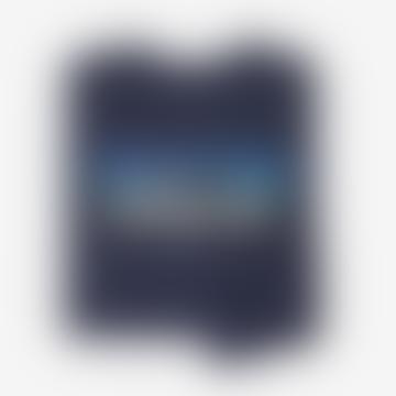 Patagonia Classic Navy Long Sleeve P6 Logo Responsibili Tee
