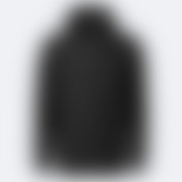 Rains Black Ultralight Waterproof Jacket