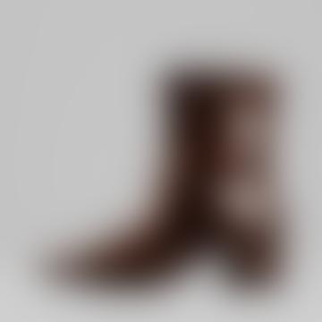 Vagabond 36 Brown Patent Leather 060 Mya Boots