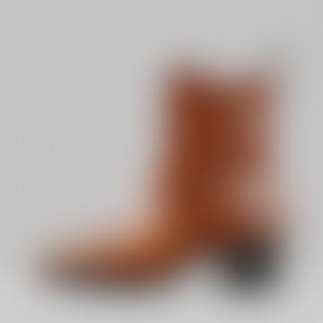 Vagabond Cinnamon Leather 4810-301 Simone Boots