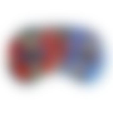 Jessica Russell Flint Silk Alphabet Eye Mask - B for Butterfly