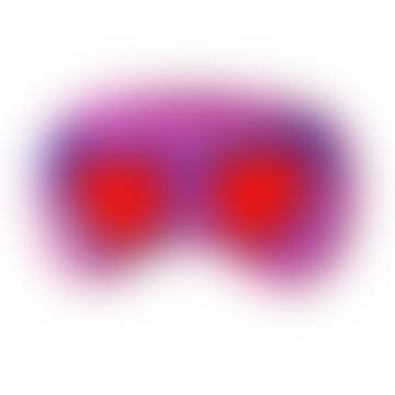 Silk Alphabet Eye Mask - S for Sunglasses