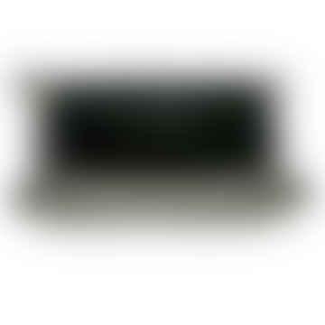 Black Cowhide Vide Poche Trinket Holder