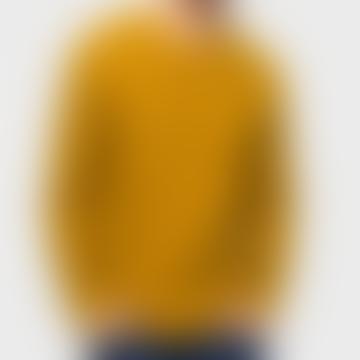 RVLT 6261 Crew Neck Sweater Mustard