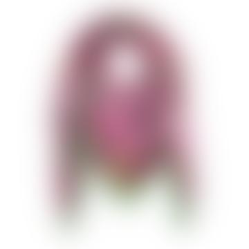 Pink Floral Satin Square Hedgehog Scarf