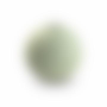 8cm Dusty Green Ceramic Ball Vase
