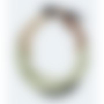 Malachite Green Pleated Scarf