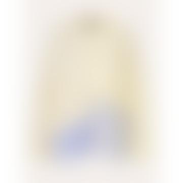 Xavi Chiffon Mix Blouse Daffodil