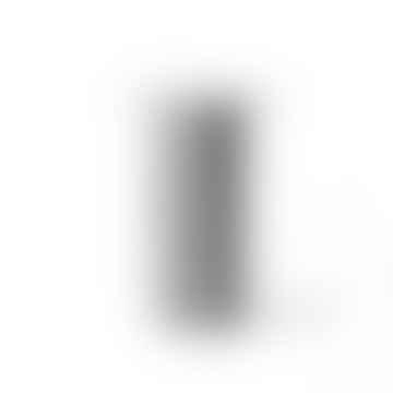 Vase en céramique rayé noir / blanc
