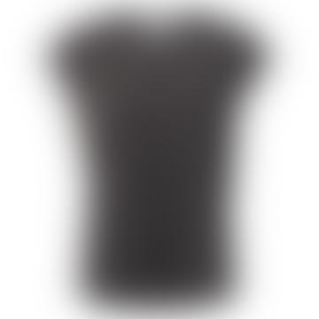 Modal Lyocell Top - Almost Black