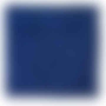 CLAY Linen Cobalt Blue Pillowcase 50 x 50cm