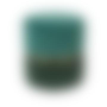 lilliandaph Deep Emerald Green Plush Velvet Stool