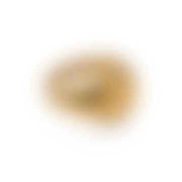 Waterproof Round Signet Ring, Forever Lasting Tarnish-Free 18k Gold