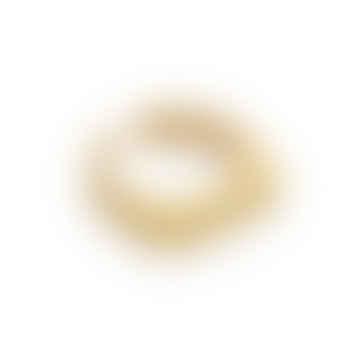 18k Gold Vermeil Signet Ring, Adjustable Size