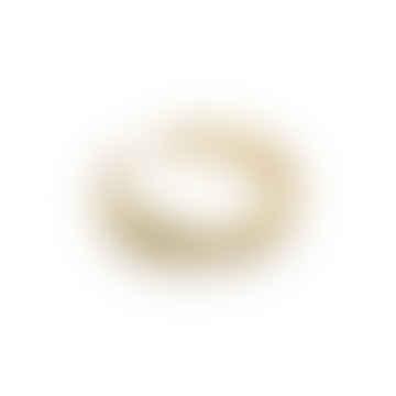 18k Gold Vermeil Adjustable Irregular Ring
