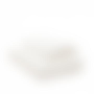 Malmo New Crisp White Ruffle King Duvet Cover