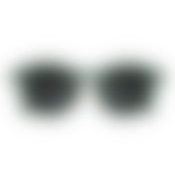 Kids Sunglasses #D Green Junior 5 - 10 Years