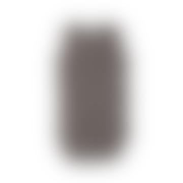 Dark Grey Animal Motif Sleeveless Bodysuit