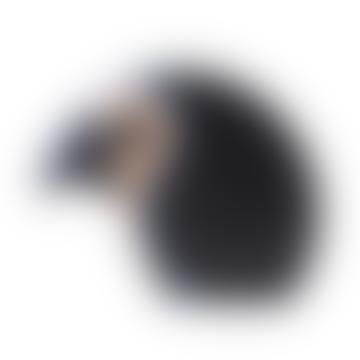 Large Grey Discus - Wooden Bird