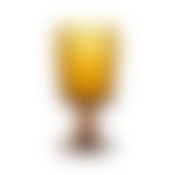 Fali Amber Wine Glass