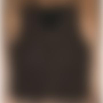 1942 Hunter Brown Melange Wool Vest