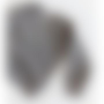 Pull motif animal gris foncé
