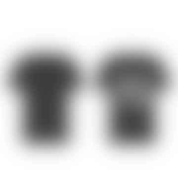 Back The F K Up Black Tee White Logo